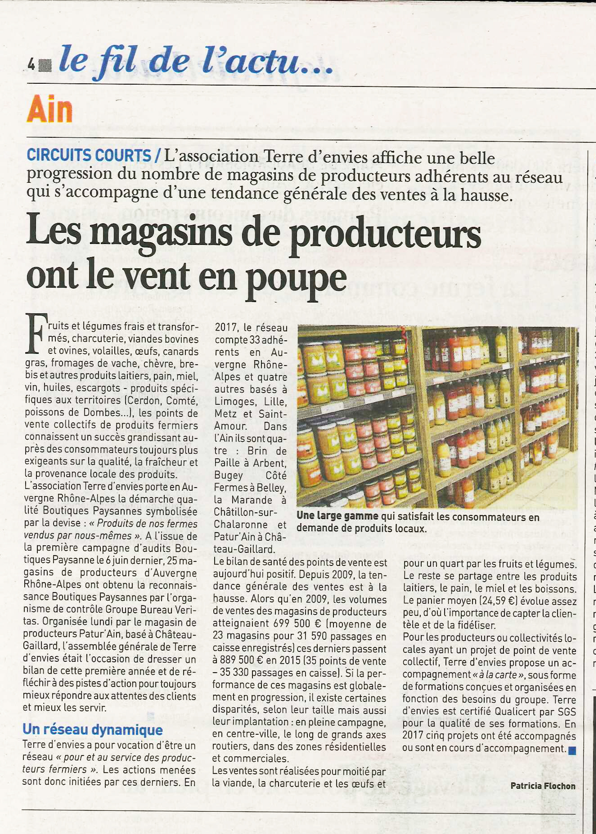 Article TE - LAin Agricole 2017-09-28-2-COURT